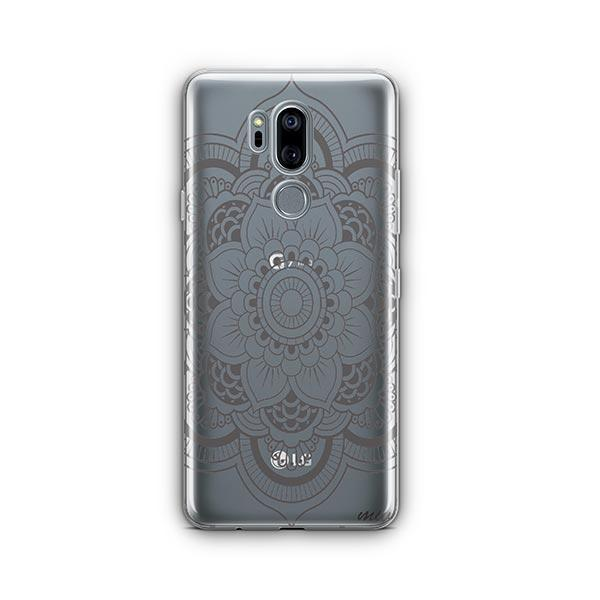 Henna Full Mandala LG G7 Thinq Case Clear