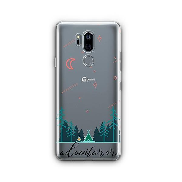 Adventurer LG G7 Thinq Case Clear