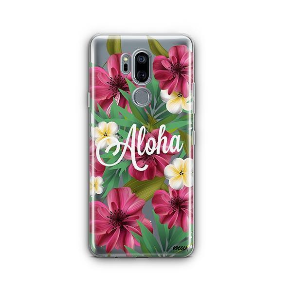 Aloha 2.0 LG G7 Thinq Case Clear