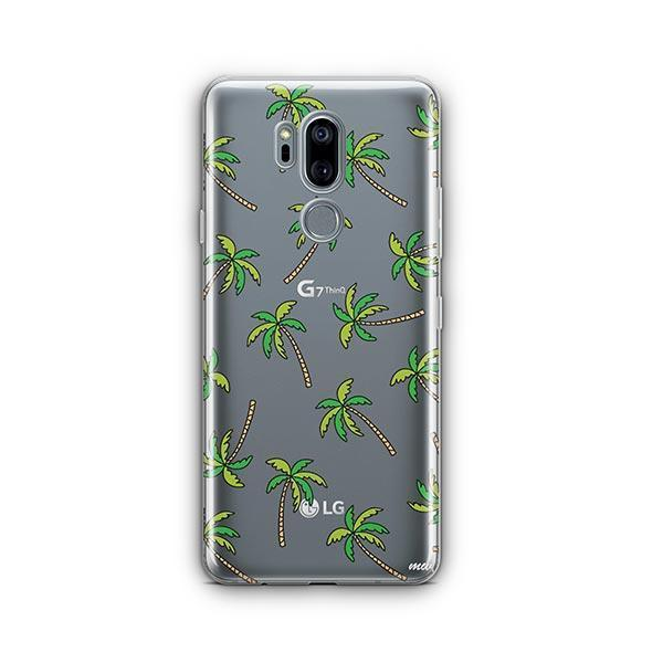 Aloha Trees LG G7 Thinq Case Clear