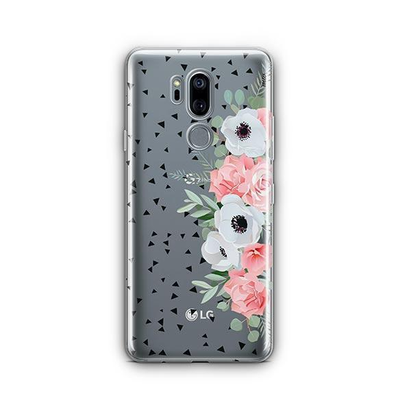 Anemone Rose LG G7 Thinq Case Clear