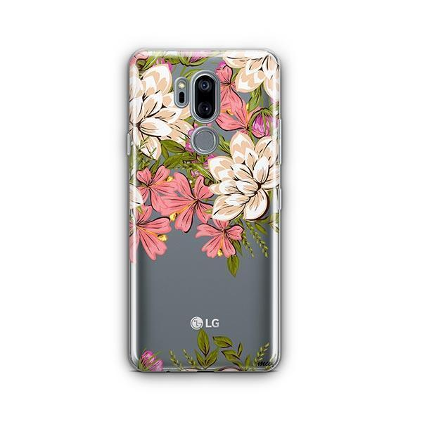Angela Floral LG G7 Thinq Case Clear