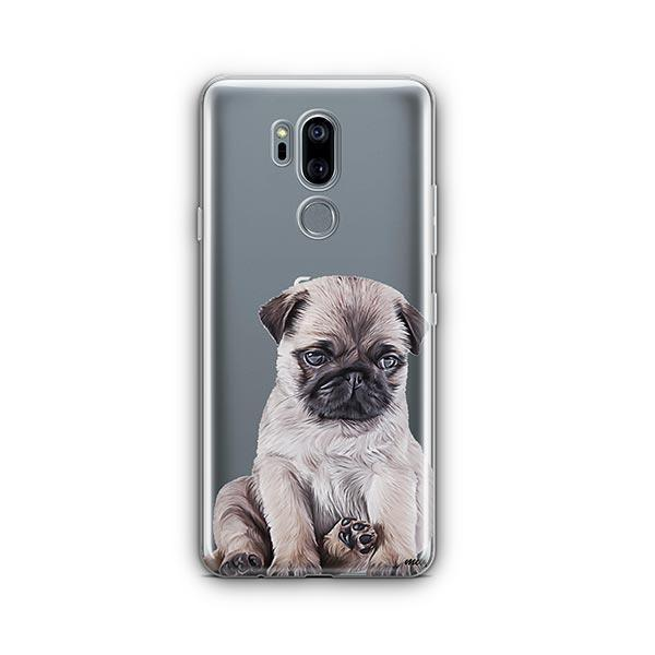 Baby Pug - LG G7 Thinq Clear Case