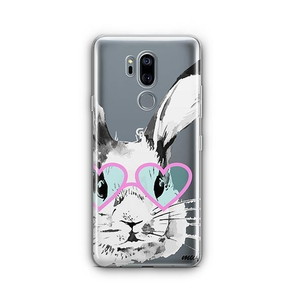 Beverly Hills Bunny - LG G7 Thinq Case Clear