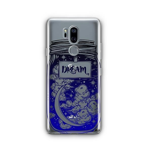 Blue Dream LG G7 Thinq Case Clear