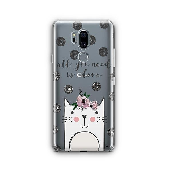 Cat Love - LG G7 Thinq Clear Case