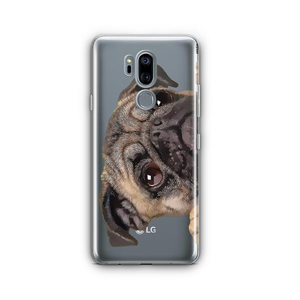 Cry Baby Pug - LG G7 Thinq Clear Case