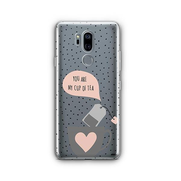 Cup of Tea LG G7 Thinq Case Clear