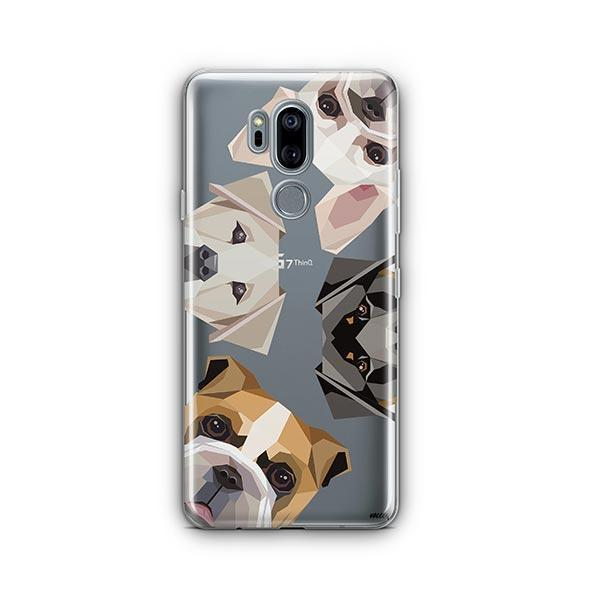 Dogs with Attitude - LG G7 Thinq Clear Case