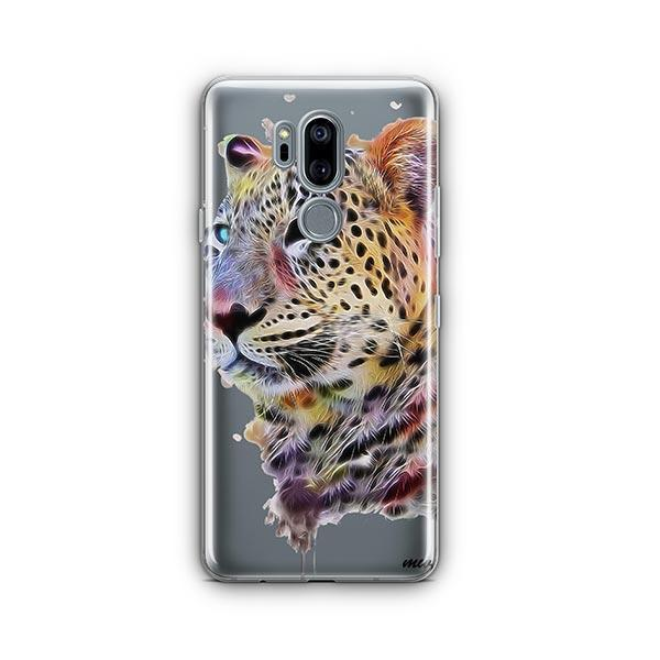 Dripping Leopard - LG G7 Thinq Case Clear