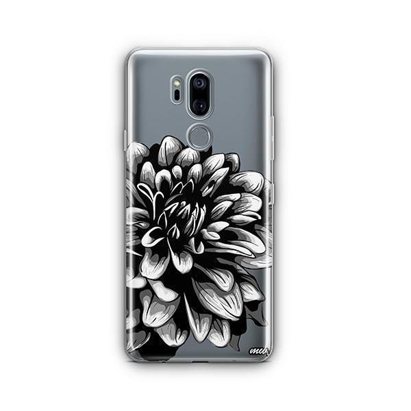 The Black Dahlia LG G7 Thinq Case Clear