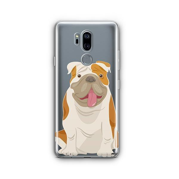 English Bulldog - LG G7 Thinq Clear Case