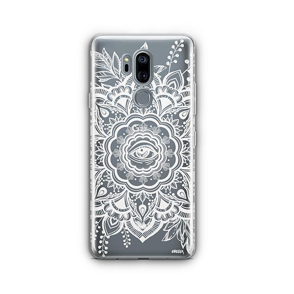 Henna Floral Eye LG G7 Thinq Case Clear