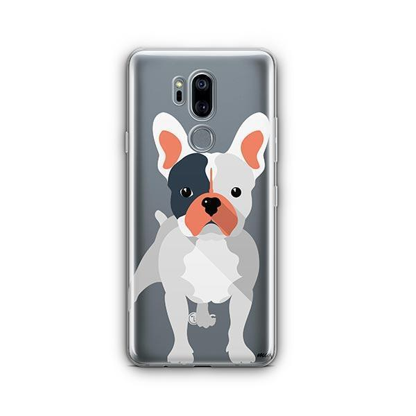 French Bulldog - LG G7 Thinq Clear Case