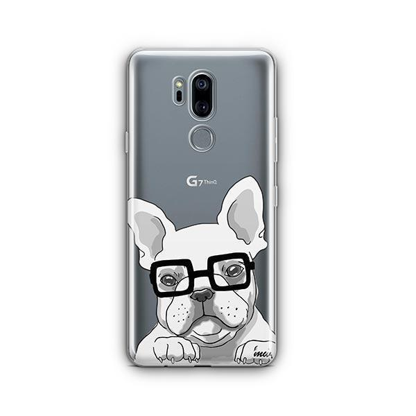 The Frenchie - LG G7 Thinq Clear Case