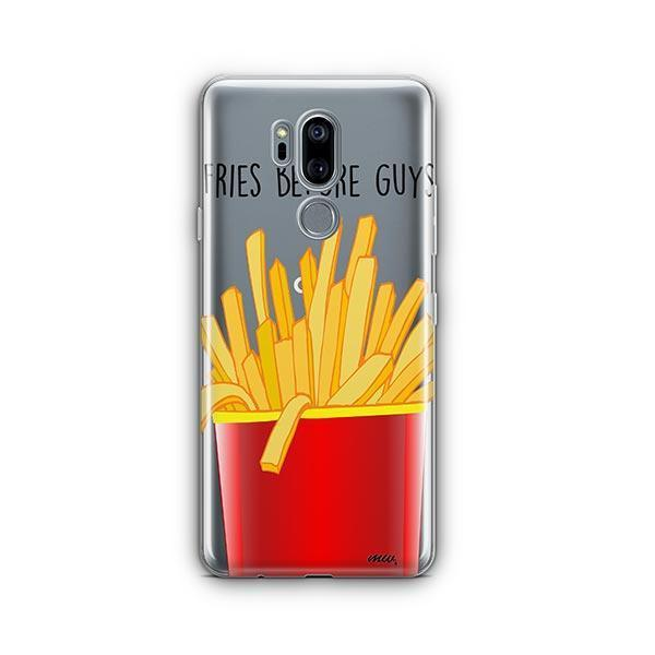 Fries Before Guys LG G7 Thinq Case Clear