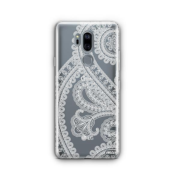 Henna Full Paisley LG G7 Thinq Case Clear