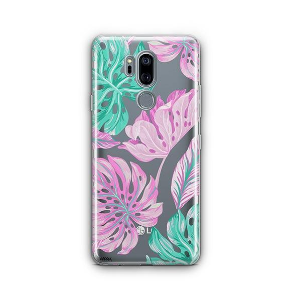 Hawaiian Garden LG G7 Thinq Case Clear