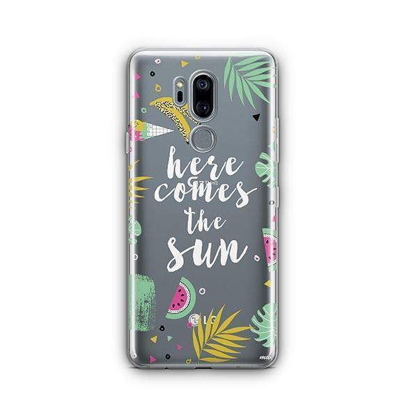 Here Comes The Sun LG G7 Thinq Case Clear
