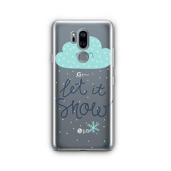 Let It Snow LG G7 Thinq Case Clear