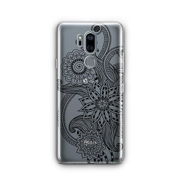 Mehndi Henna LG G7 Thinq Case Clear