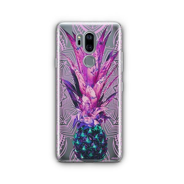 Pineapple Mandala LG G7 Thinq Case Clear
