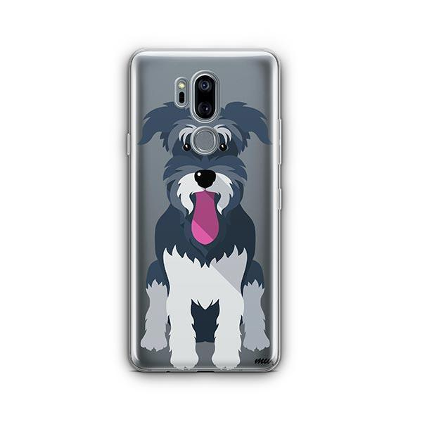 Schnauzer - LG G7 Thinq Clear Case
