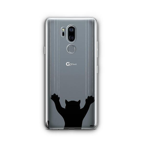 Scratchy Cat - LG G7 Thinq Clear Case