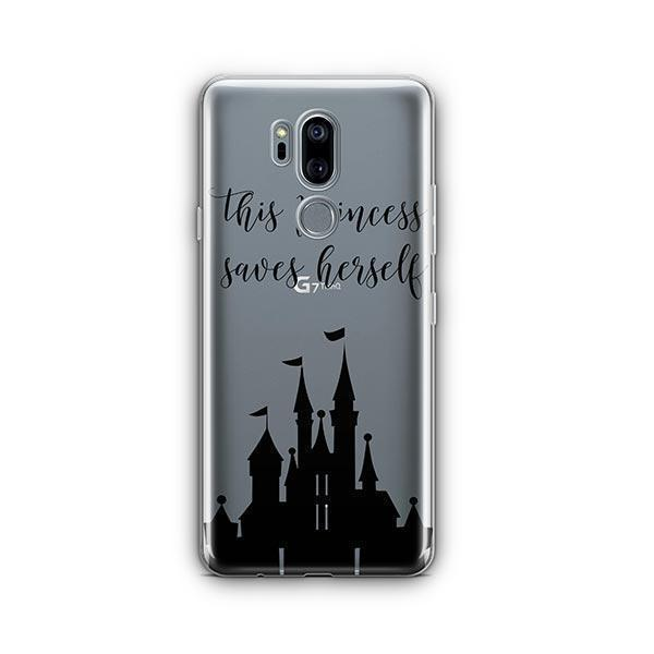 The Princess Saves Herself LG G7 Thinq Case Clear