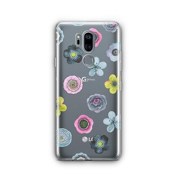 Watercolor Succulent LG G7 Thinq Case Clear