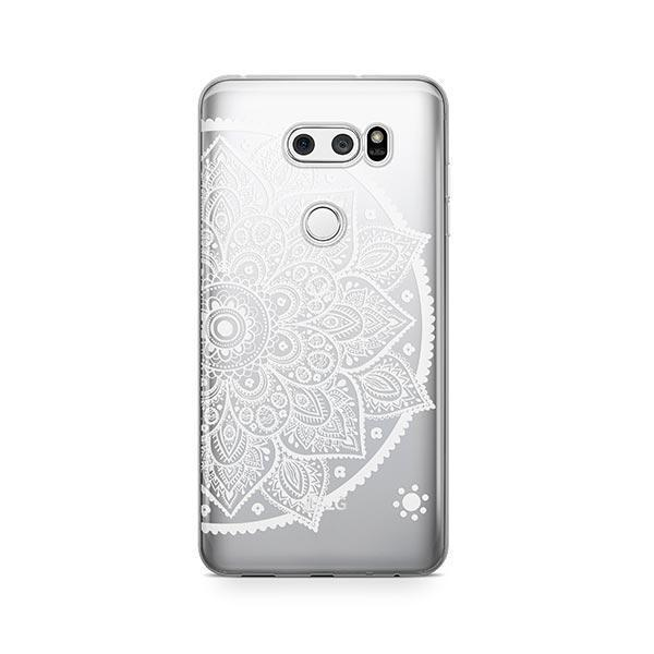 Henna Lotus Mandala LG V30 Case Clear