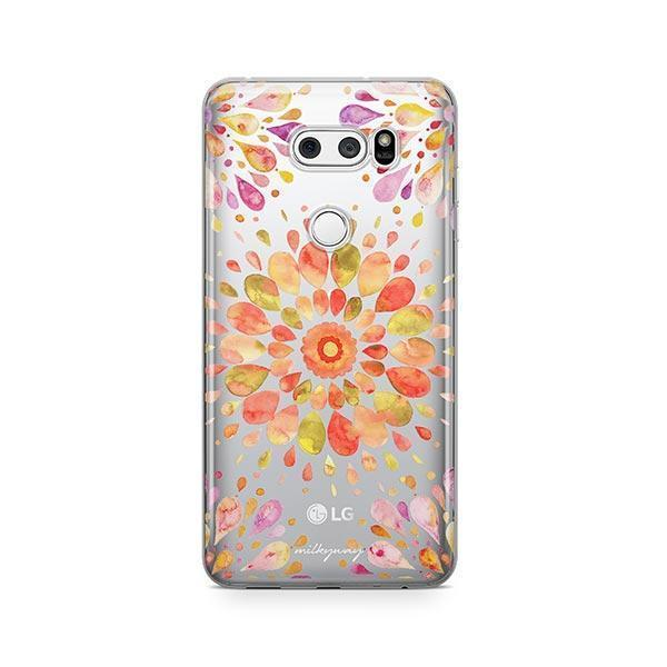 Summer Mandala LG V30 Case Clear