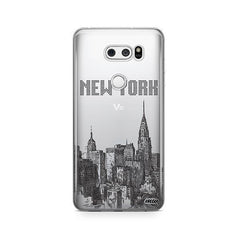 The Big Apple LG V30 Case Clear