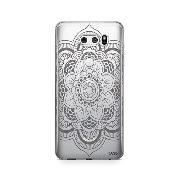 Henna Full Mandala LG V30 Case Clear