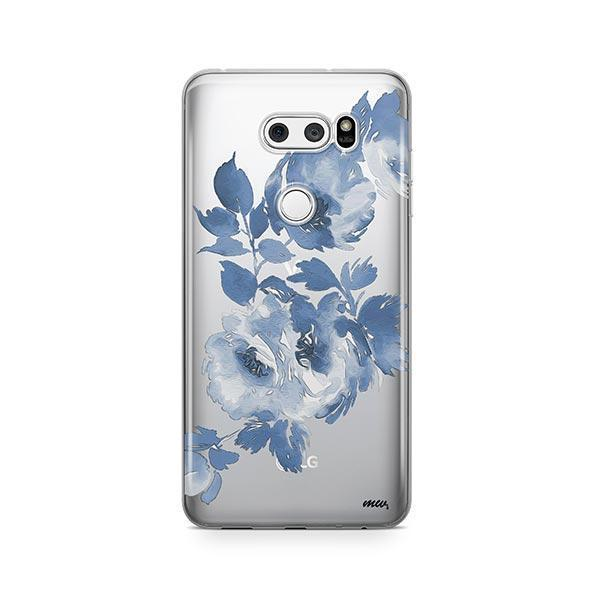 Blue Crush LG V30 Case Clear