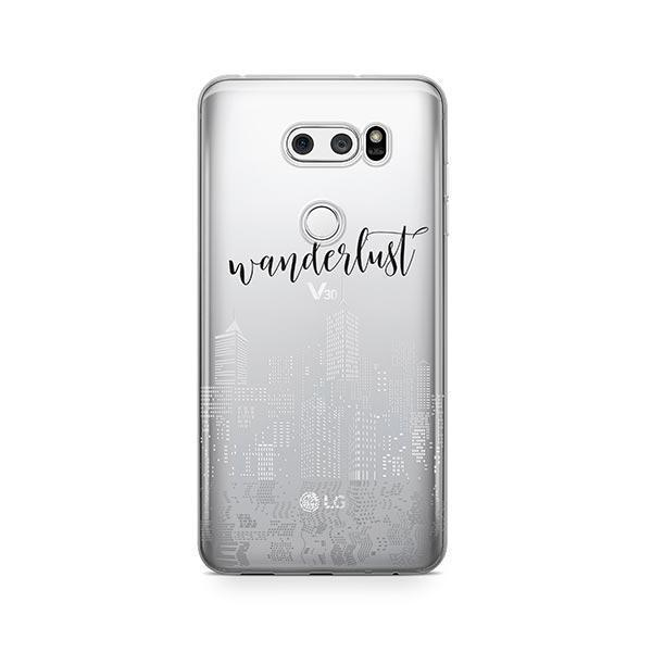 City Wanderlust LG V30 Case Clear