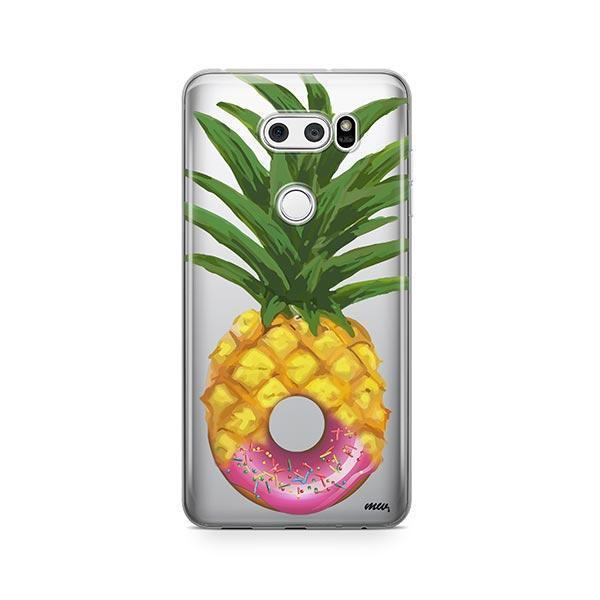 Donut Pineapple LG V30 Case Clear