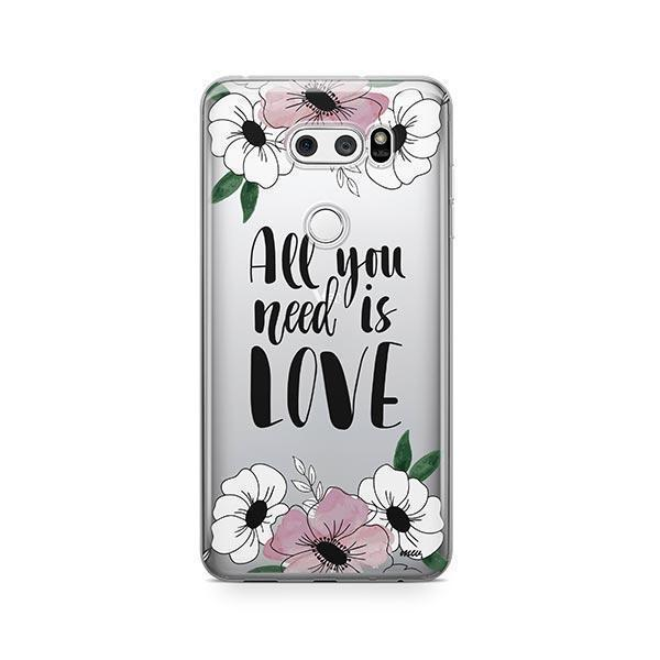 All You Need is Love LG V30 Case Clear