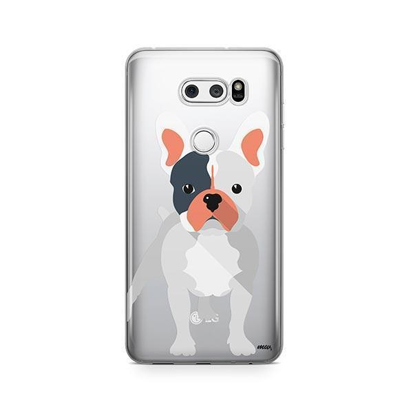 French Bulldog - LG V30 Clear Case