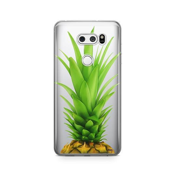 Pineapple Head LG V30 Case Clear