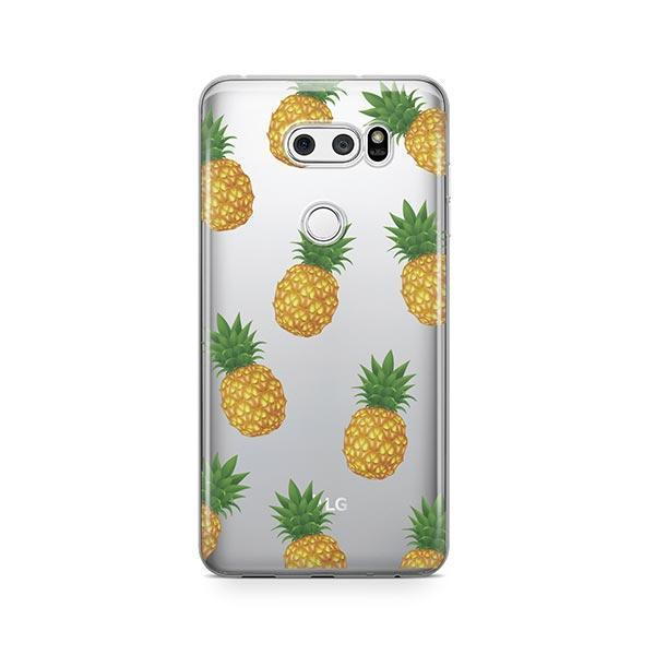 Pineapple Overload LG V30 Case Clear