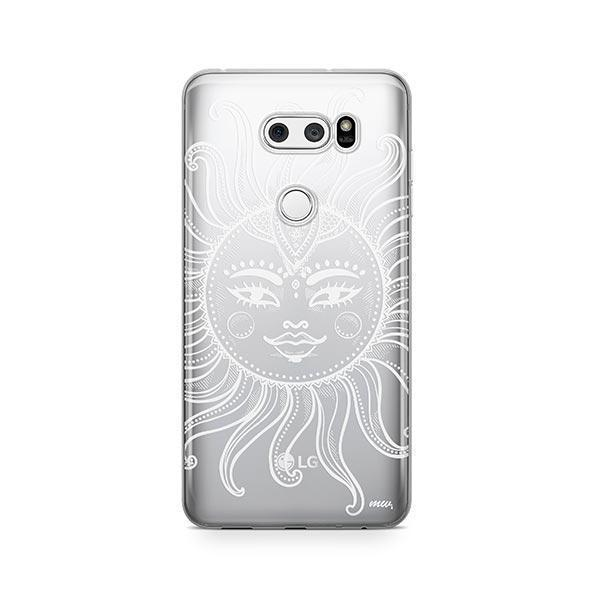 Henna Totemic Sun LG V30 Case Clear