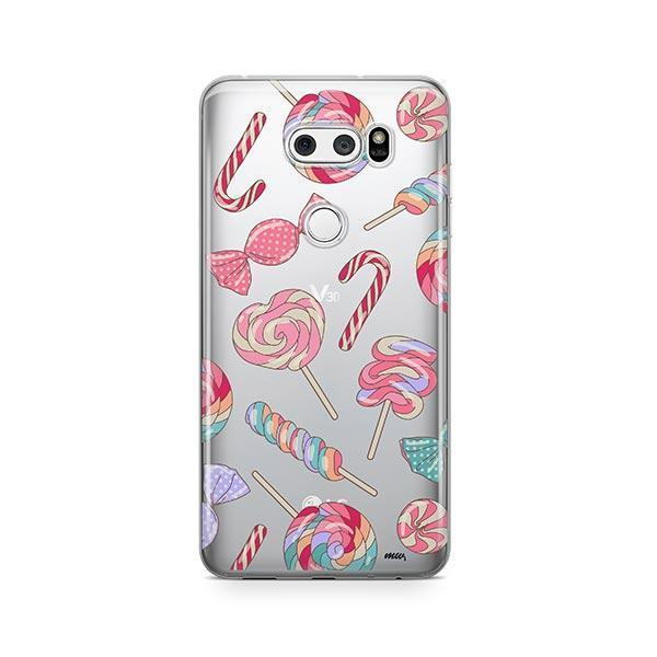 Sweet Tooth LG V30 Case Clear