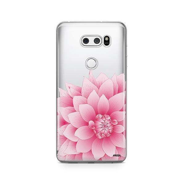 The Dahlia LG V30 Case Clear