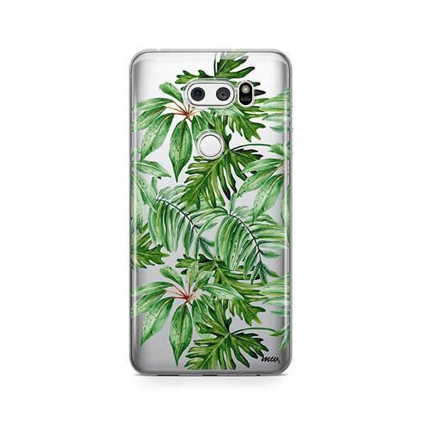 The Tropics LG V30 Case Clear