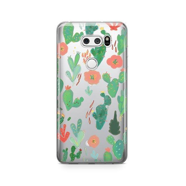 Watercolor Cactus LG V30 Case Clear