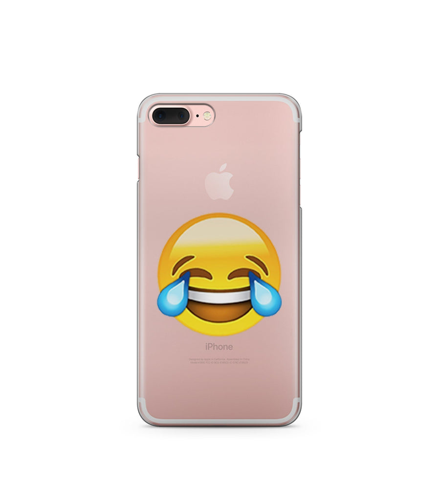LOL Emoji - Clear TPU Case Cover - Milkyway Cases -  iPhone - Samsung - Clear Cut Silicone Phone Case Cover