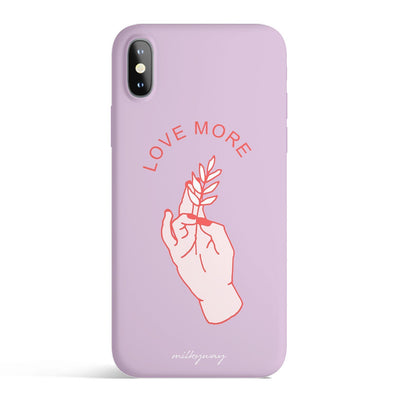 Love More - Matte TPU - iPhone Case