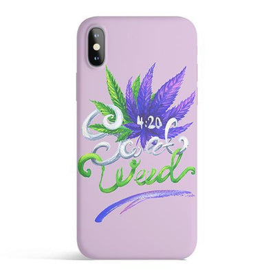 Sweet Weed - Colored Candy Cases Matte TPU iPhone Cover