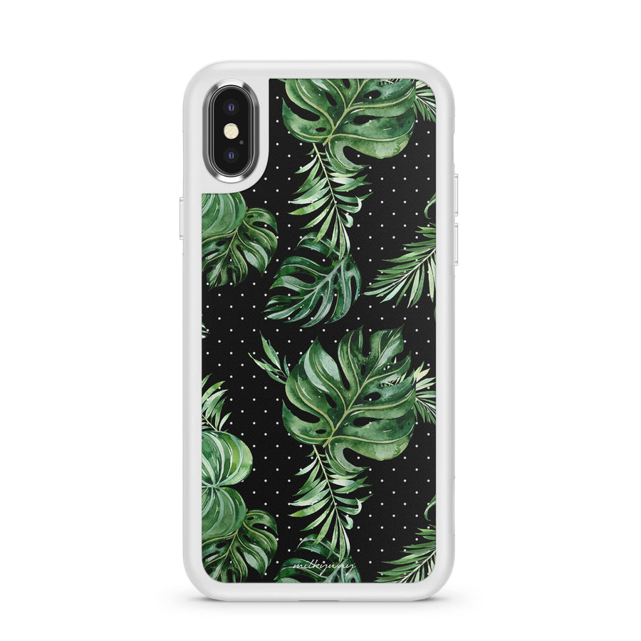 Majestic Green - Slate Case Milkyway iPhone Samsung Clear Cute Silicone 8 Plus 7 X Cover